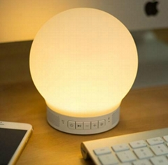 2016 New Fashion APP Controlled Bluetooth bedside lamp with touch responsive