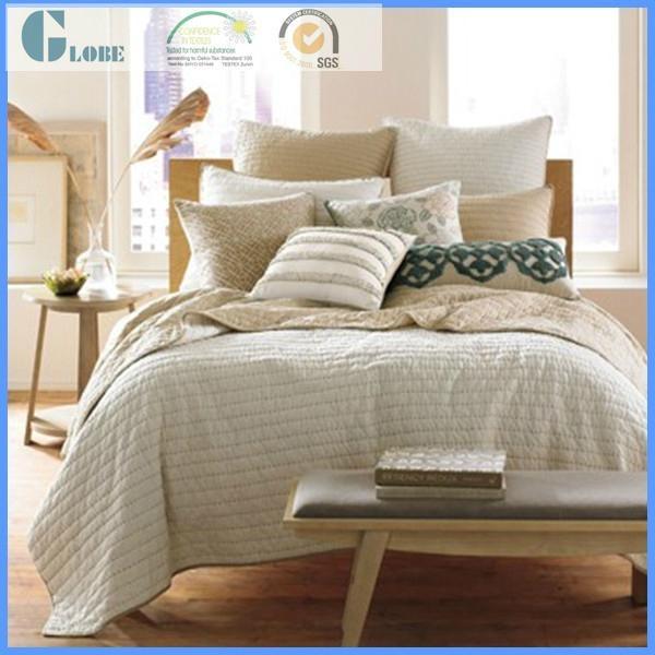 wholesale queen size 100% microfiber bedspread 4