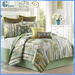wholesale queen size 100% microfiber bedspread