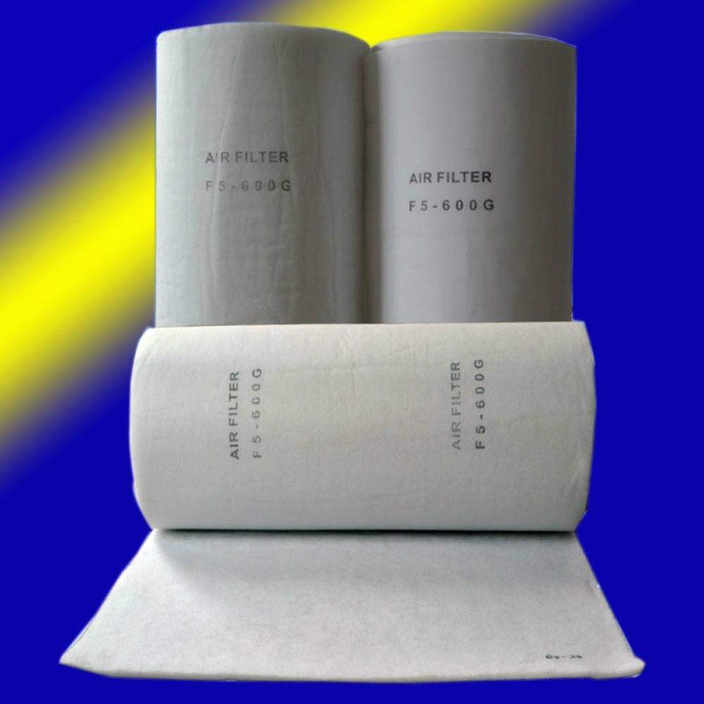 Polyester ceiling filter material 2