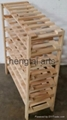 42 Bottle Wooden Wine Rack