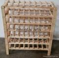 42 Bottle Wooden Wine Rack  3