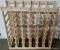 42 Bottle Wooden Wine Rack  4