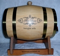Popular used wooden wine barrel for sale3L 2