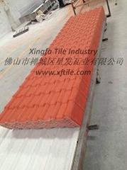 Xingfa pvc roof tile