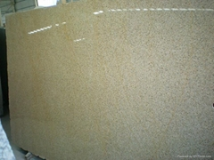 Yellow G682 Granite slab for countertop and tile