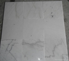 Guangxi White Marble slab and tile ,China carrara marble