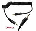 YONGNUO RF-603 II C1 Wireless Flash Trigger Shutter Release for Canon 60D 350D  3