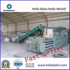 Hydraulic Automatic Plastic Tire sheet iron Closed Door Balers