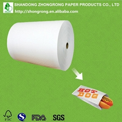 RECYCLABLE food wrapping paper