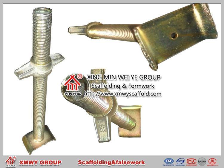 Adjustable U Head : Qin huangdao manufacturer adjustable screw jack base u
