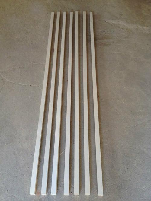床板條 1