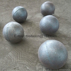 Low chrome cast steel grinding balls for metal mine and coal mill