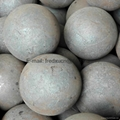 Forged steel grinding balls for copper