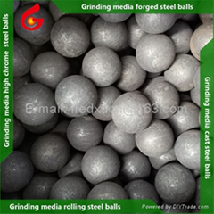 3 inch Forged steel ball mill grinding media balls for mining