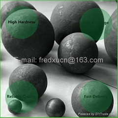40mm Grinding media forged steel balls for cement mill