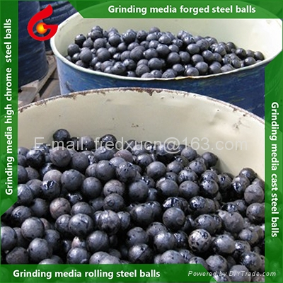High chrome grinding media ball