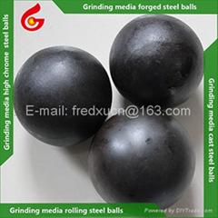 40mm High chrome grinding media balls for cement mill grinding