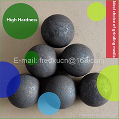 100mm ball mill grinding media forged grinding steel balls for mine and cement