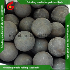 2 inch Ball mill grinding media forged and rolling steel balls for gold mining