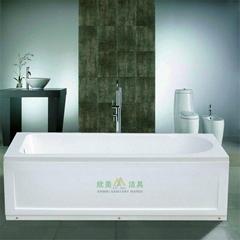 Superior quality acrylic freestanding bathtub