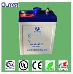 固定型阀控密封式铅酸蓄电池