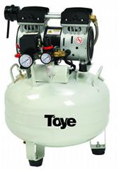 TOYE Dental Silent Oil free Air Compressor 32L