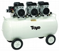 TOYE Silent Oil free Air Compressor For