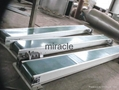 Electronics pvc conveyor roller assembly