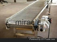 Hotsale Automated Stainless Steel Wire Mesh Belt Conveyor Line