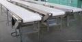 Speed controllable conveyor pvc conveyor