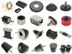 Rubber metal bondig shock absorber