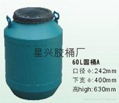 60L圓塑膠桶