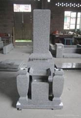 日本関西墓石