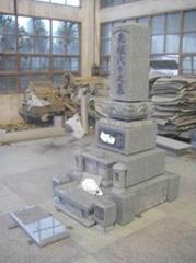 日本北海道地区墓石