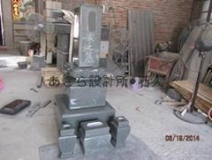 日本関东地区墓石