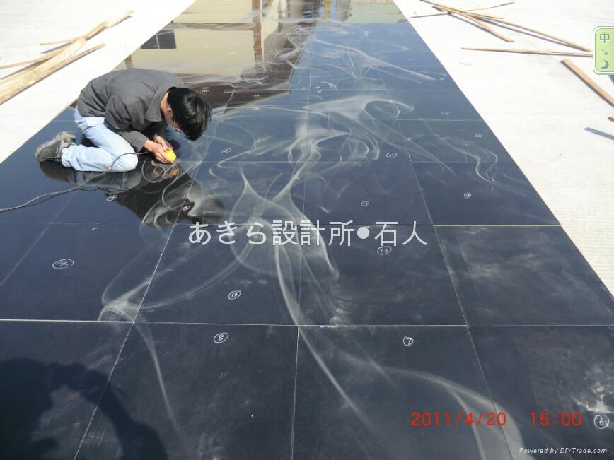 影彫り工事2 1