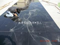 影彫り工事2