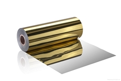gold/metallised BOPS Film/gold food tray material