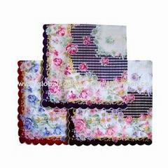 Lace handkerchiefs