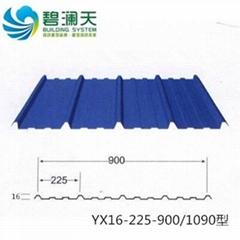 碧瀾天YX16-225-900彩鋼板