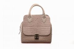 2015 Ffashion lady genuineleather handbag