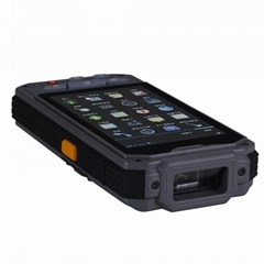 PS-140d Android Handheld terminal PDA with HF(13.56) Rfid reader & 1D scanner
