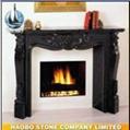 Granite Fireplace 1