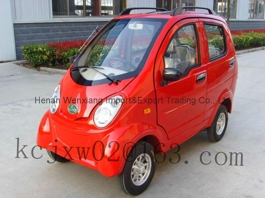 4 wheels 3 seats mini electric car made in china china trading company automobile vehicles. Black Bedroom Furniture Sets. Home Design Ideas