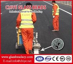 Korea Standard(KS-1;KS-2;KS-3) GLASS BEADS For ROAD MARKING CHINA REFLECTIVE GLA