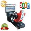 Luxury racing car game machine 32 LCD