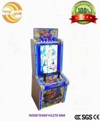 Body frame game machine Multi-player Shooting Game Machine Thunder 4