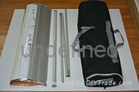 deluxe plastic steel wide pedestal roll-up banner 4