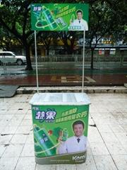 pure aluminum promotion desk